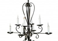 Iron Candle Chandelier Lighting