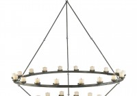 iron chandelier candle holder