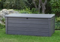 Keter Brightwood Deck Box 120 Gallon