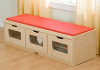 Kids Storage Bench Seat