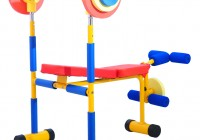 Kids Weight Bench Set