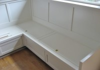 Kitchen Bench Seating With Storage Plans