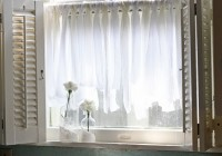 Kitchen Cafe Curtains Ideas