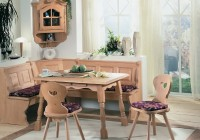 Kitchen Dining Corner Seating Bench Table