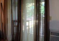 kitchen sliding glass door curtains