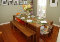 Kitchen Table Bench Seat Plans
