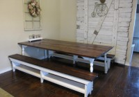 Kitchen Table Bench With Storage