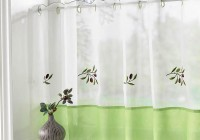 Kitchen Window Cafe Curtains