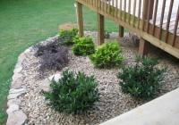 Landscaping Around Deck Posts