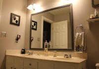 Large Bathroom Mirror Frame
