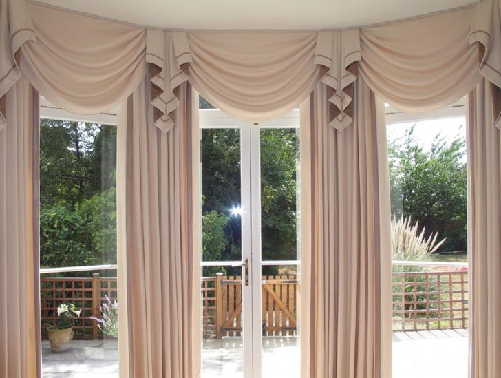 Permalink to Large Bay Window Curtains