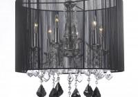 large black crystal chandelier