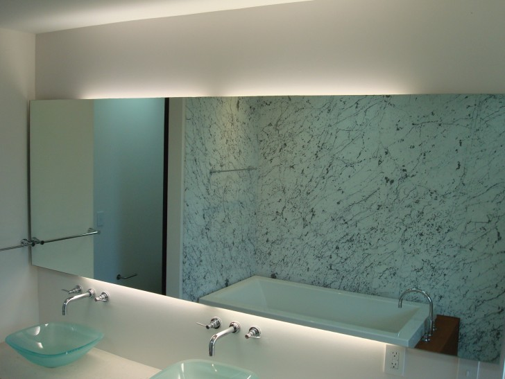 Permalink to Large Contemporary Bathroom Mirrors
