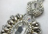 Large Crystal Chandelier Earrings