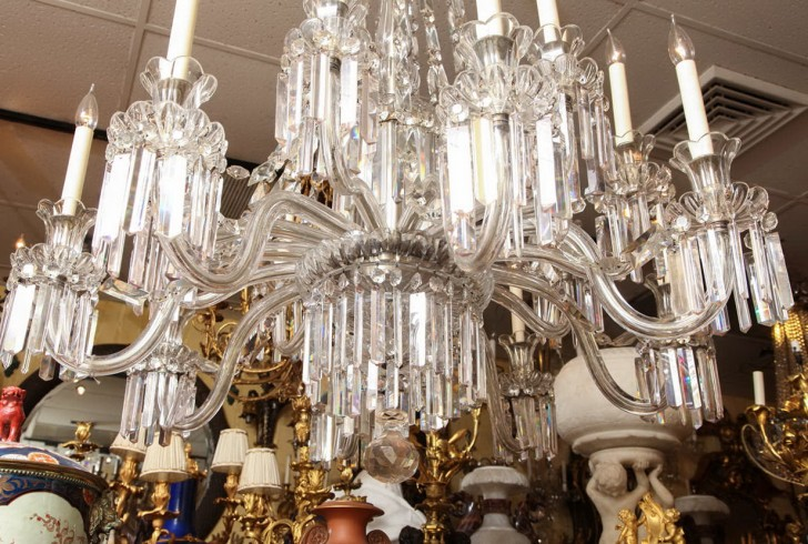 Permalink to Large Crystal Chandeliers For Sale