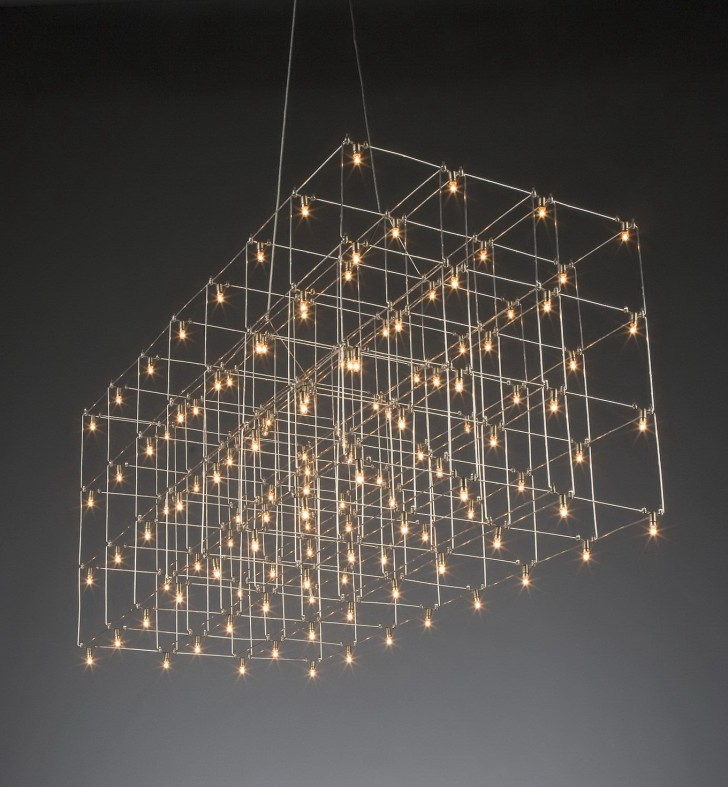 Permalink to Large Edison Bulb Chandelier