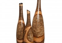 Large Floor Vases With Bamboo
