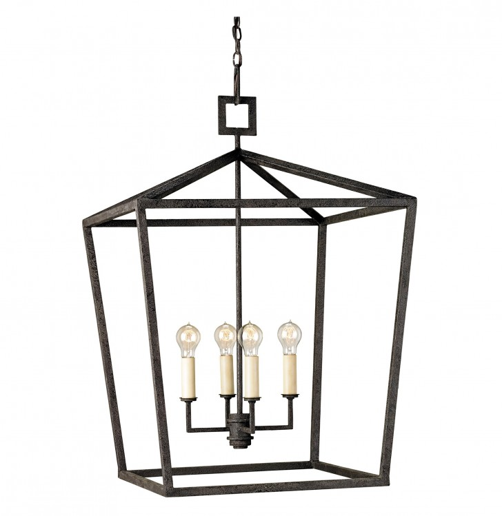 Permalink to Large Lantern Style Chandelier
