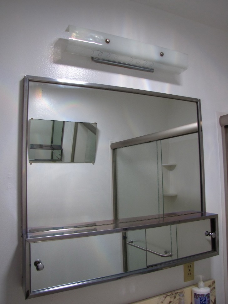 Permalink to Large Mirrored Medicine Cabinet