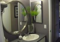 Large Round Bathroom Mirrors