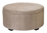 Large Round Ottoman For Sale
