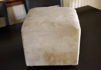 Large Square Ottoman Slipcover