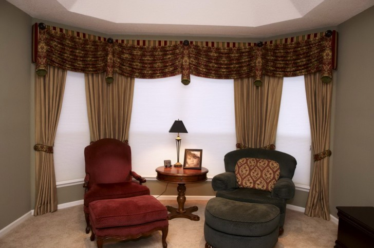 Permalink to Large Window Curtains Ideas
