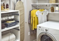 Laundry Closet Organization Ideas
