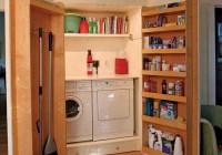 Laundry Room Closet Door Ideas