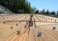 Laying Deck Boards Over Concrete