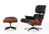 Leather Lounge Chairs With Ottomans