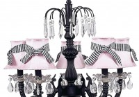 Lerdal Chandelier Black Glass