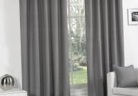 Light Grey Eyelet Curtains