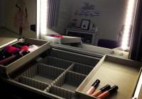 Light Up Makeup Mirror Boots