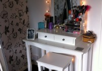 Light Up Vanity Mirror Table