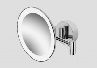 Lighted Magnifying Mirrors Wall Mounted