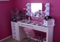 Lighted Mirror Vanity Table