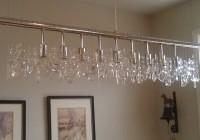 Linear Crystal Chandelier Lighting