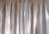 lined burlap curtains diy