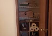 Linen Closet In Master Bathroom