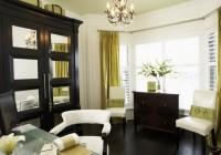 Living Room Bay Window Curtains