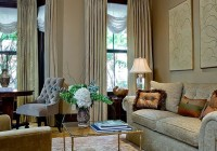 Living Room Double Curtain Rods