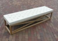 long bench seat cushions