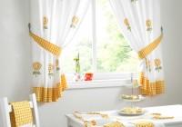 Long Kitchen Window Curtains