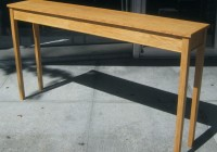 Long Skinny Console Table