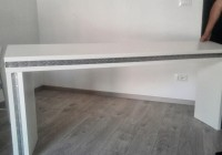 Long Slim Console Table