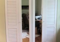 Louvered Folding Closet Doors