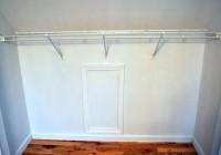 Make Your Own Closet Rod