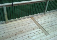 metal deck railing systems