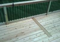 metal deck railings home depot